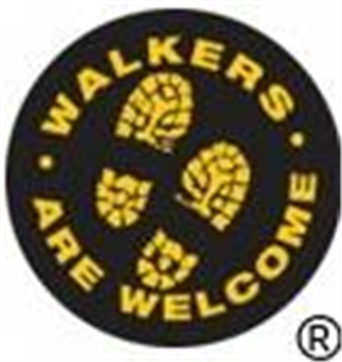 Much Wenlock Walkers are Welcome Logo